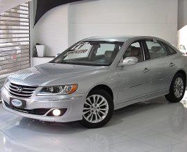 HYUNDAI AZERA 3.3 MPFI GLS SEDAN V6 24V GASOLINA 4P AUTOMÁTICO 2010/2011