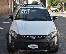 Fiat Strada 1.8 16v Adventure Cab. Dupla Flex Dualogic 3p 2016