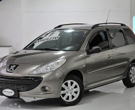 PEUGEOT 207 1.4 XR SPORT SW 8V FLEX 4P MANUAL 2010/2011