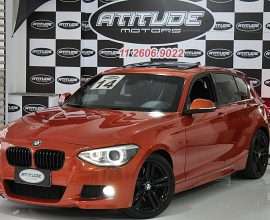 BMW 125i 2.0 M SPORT 16V GASOLINA 4P AUTOMÁTICO 2013/2014 BLINDADO